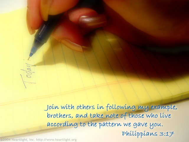 Following Philippians